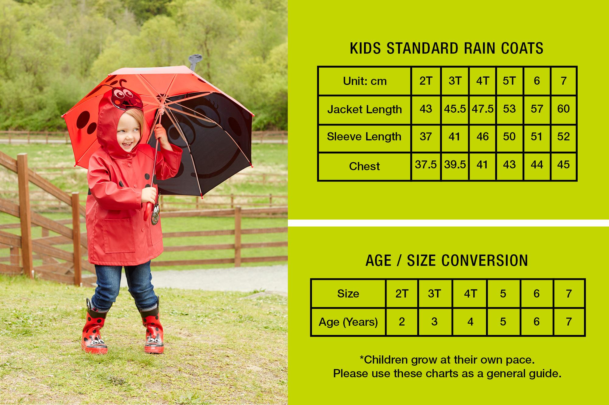 Kids' Rain Coats